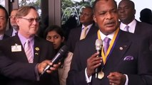 Lions Clubs International President meets Excellency Denis SASSOU NGUESSO in Brazzaville