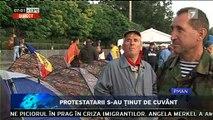 Au rămas în corturi în PMAN. O bună parte dintre protestatarii, care au participat ieri la mitingul de amploare organizat de Platforma Civică DA, şi-au instalat corturile şi au rămas toată noaptea în PMAN.