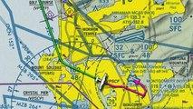 Landing at Montgomery Field in San Diego  (KMYF)