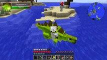 Minecraft Dinosaurs  Jurassic Craft Modded Survival Ep 74!  JURASSIC WORLD SEA CAGE!