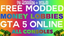 "GTA 5 Online: ""FREE MODDED MONEY LOBBIES"" After Patch 1.26/1.28 (GTA 5 Money/DNS Lobbies 1.26/1.28)"