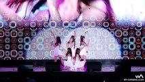 Un groupe de K-Pop sur une scène très glissante... Chutes à répétition!