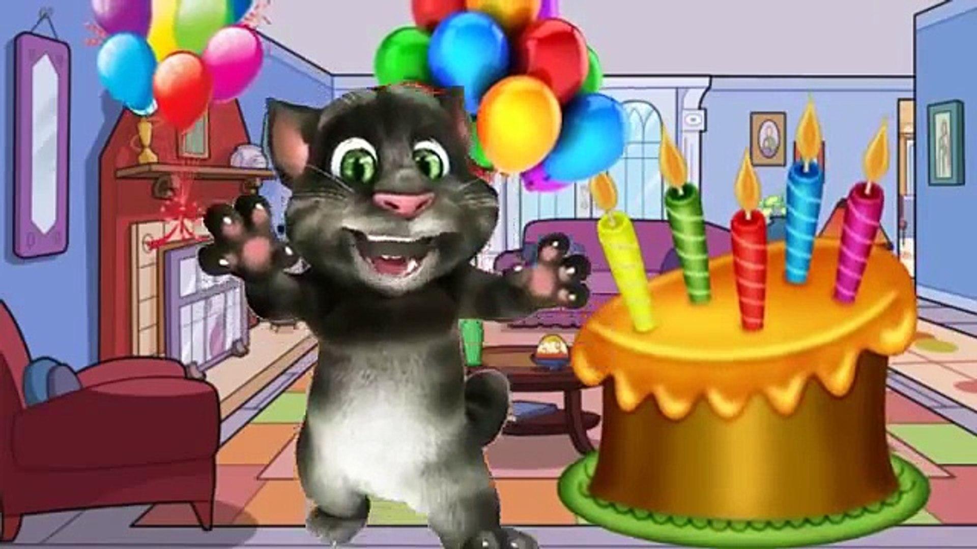 Talking Tom & Friends happy birthday song Birthday Song Nursery Rhymes Song  Children