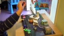 Disney Planes   Micro Drifters Wall Race Track Playset   Dusty Crophopper