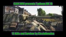 War Thunder clan XVIII Typhoon mk1B Survivor and 15 kills