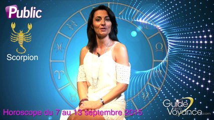 Horoscope Patricia Lasserre Scorpion semaine du 07 septembre 2015