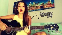 'What do you mean' - Justin Bieber acoustic guitar Cover Alice Caroli