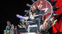 """Foo Fighters : """"Under Pressure"""" live avec un membre de Queen et de Led Zeppelin"""