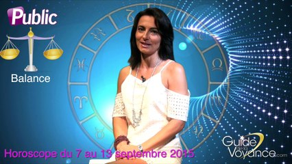Horoscope Patricia Lasserre Balance 07 septembre 2015
