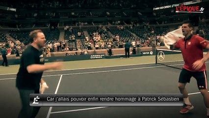 Quand Djokovic danse pour rendre hommage à Patrick Sébastien !