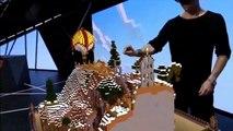 HoloLens Demo Minecraft Xbox One - E3 2015 Microsoft HoloLens