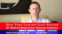 How Do You Start a Lawsuit? NY Medical Malpractice Attorney Explains