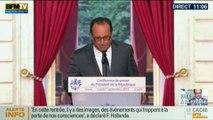 """François Hollande: """"La France va accueillir 24 000 migrants"""" d'ici 2017"""