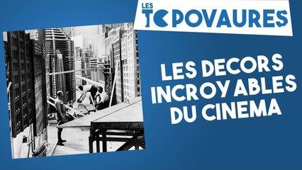 5 décors incroyables du cinéma - Les Topovaures #10