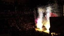 Intro + Brock Lesnar Entrance Monday Night Raw 3/30/15 LIVE in San Jose