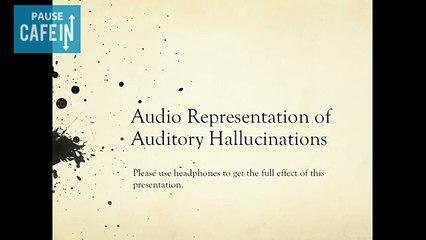 Voici à quoi ressemblent les voix que les skyzophrènes entendent dans leur tête...