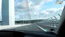 Tourist destination Le Viaduc de Millau -France