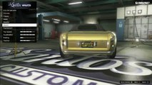 GTA V- How to Put Pearlescent Paint on Gold and Other Paints (After Patch 1.15)