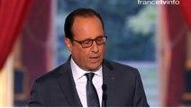"""François Hollande annonce des """"vols de reconnaissance en Syrie"""""""