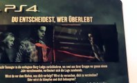 Unboxing: Until Dawn Steelbook Edition PlayStation 4 german deutsch