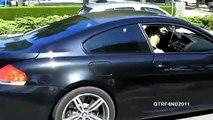Emigrante com BMW M6 nas ruas de Viana do Castelo
