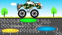 Military truck Vs Thor Truck Trucks for kids - Mega Kids Tv - Truk militer Vs Thor Truk Truk