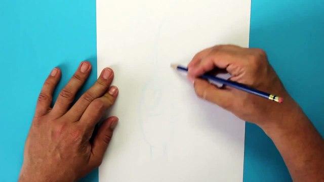 Cómo dibujar a Plankton (Bob Esponja) - How to draw Sheldon J. Plankton (SpongeBob SquarePants)