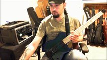 Boston - Foreplay / Long Time guitar rhythms & solos + Carvin HH2X headless guitar