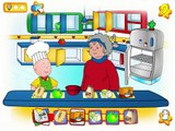 Caillou Cooking With Grandma Cartoon Animation PBS Kids Game Play Walkthrough | pbs kids games
