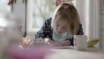 AXA Winterthur campagna: Investire nel futuro per i vostri figli «cucina»