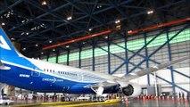 Boeing 787 Dreamliner first landing in Bangkok โบอิ้ง787 เยือนไทย
