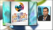 Fête du basket  avec Gilles Viard, chargé de l'organisation des événements à la JDA