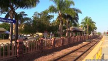 Amtrak Trains WWII Pearl Harbor troop train 2014   3 BONUS SHOTS !!!