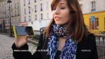 Nokia Lumia 920 et 820 avec Windows Phone 8 - Changez pour Lumia (spot 15sec, janvier)