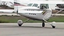 Flying solo in a cessna 172, different takeoffs and landing!