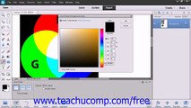 Photoshop Elements 12 Tutorial Using the Color Picker Adobe Training Lesson 5.5