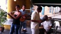 CUBAN MUSIC AT THE PLAZA VIEJA HAVANA CUBA