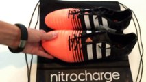 Adidas Nitrocharge 1.0 Second Generation (White, Flash Orange, Black!)