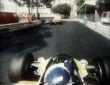 Alain Prost -F1 Renault Turbo - Monaco 1982.