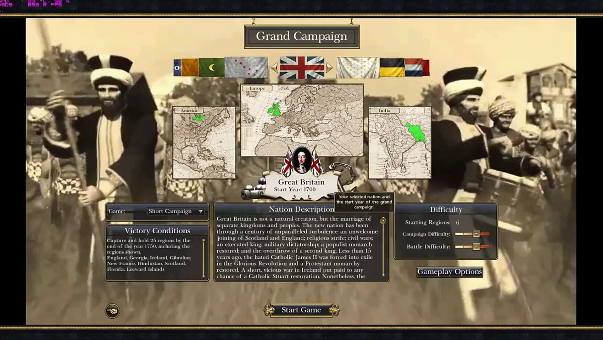 Empire Total War Darthmod: Faction Vote!