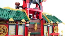 Đồ Chơi Xếp Hình LEGO Ninjago 70728 Battle for Ninjago City Speed Build