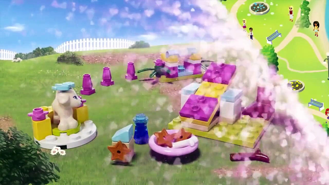 LEGO® Friends   Puppy Training 41088 Animation