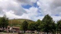 Time lapse: Black mountain/ Divis mountain Belfast Northern Ireland