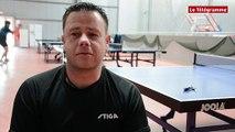 """Tennis de Table. Quimper CTT. Pro A. Manu Palud : """"La volonté de se battre"""""""