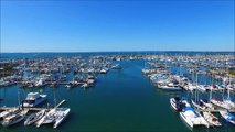 14AUG15 - New quad over Manly Harbour - HD Version