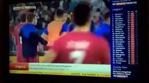 Albania Vs Serbia Football Fights Between Players Fight Between Players Of The Same Team 2015