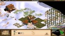 Age of Empires 2: The Conquerors Walkthrough Attila the Hun Part 8 - A Barbarian Betrothal Part 1
