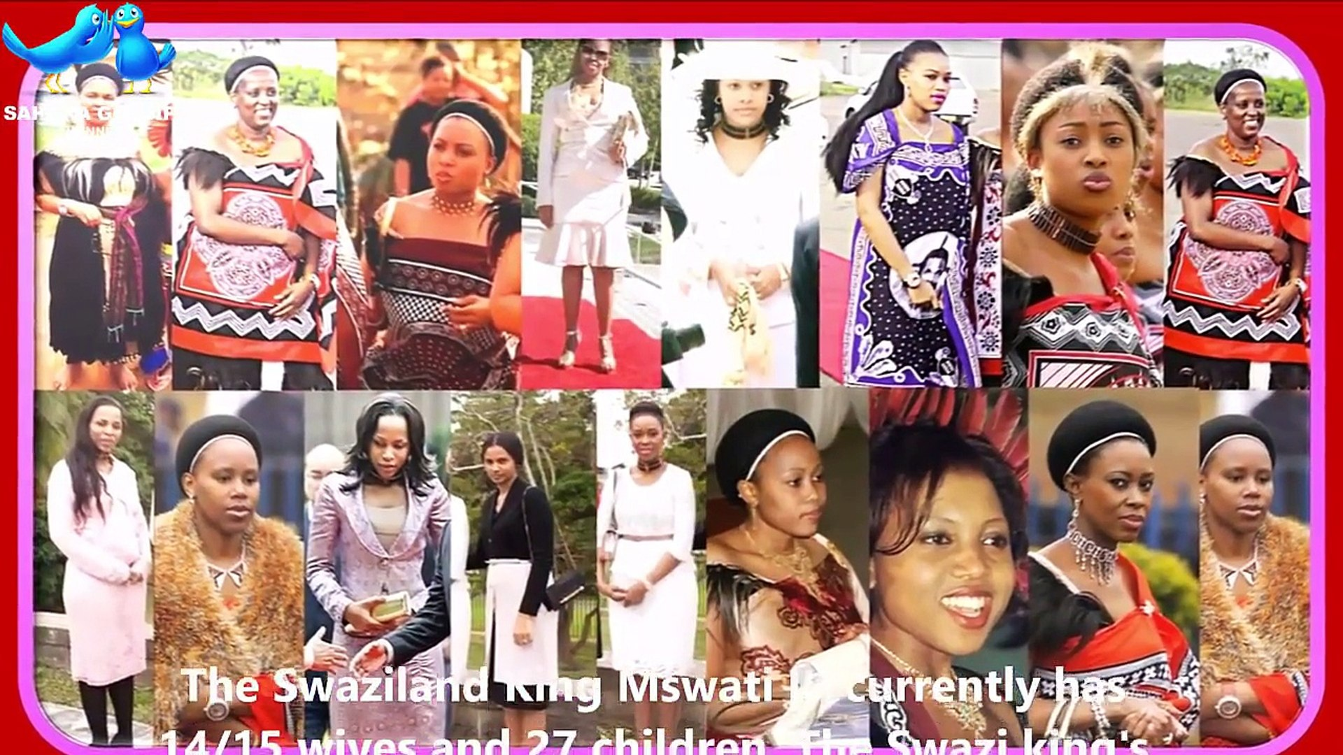 Reed Dance   Swazi King Mswati III & His 15 Queens   Rat-Race In Swazi Royal Palace!