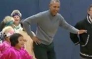 Quand Obama se lâche et danse avec des enfants !
