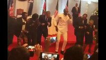 WATCH: Barack Obama Dances At State Dinner In Kenya | Obama Dancing To 'Kenya's Gangnam Style'